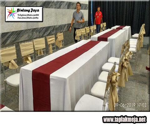 Jual Taplak Meja Hotel dan Jasa Rental siap menerima pemesanan Partai Besar Kualitas Premium